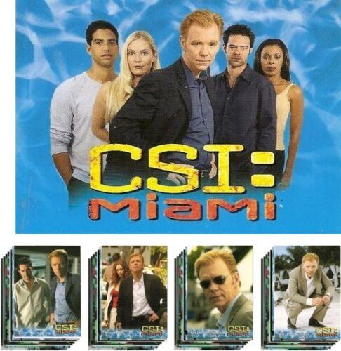 CSI /& CSI Miami VAN HELSING TRADING CARDS Complete Sets BATMAN