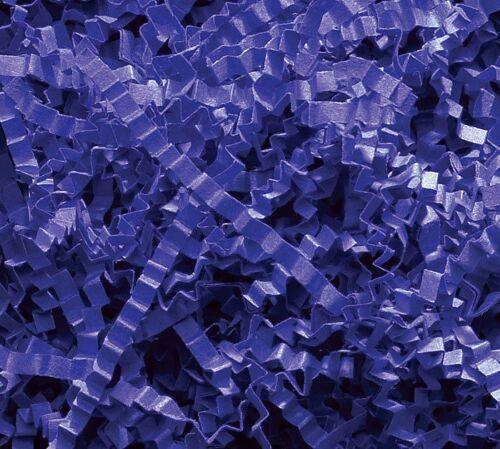 U Choose Size! ROYAL BLUE Gift Basket Shred Crinkle Paper Grass Filler Bedding