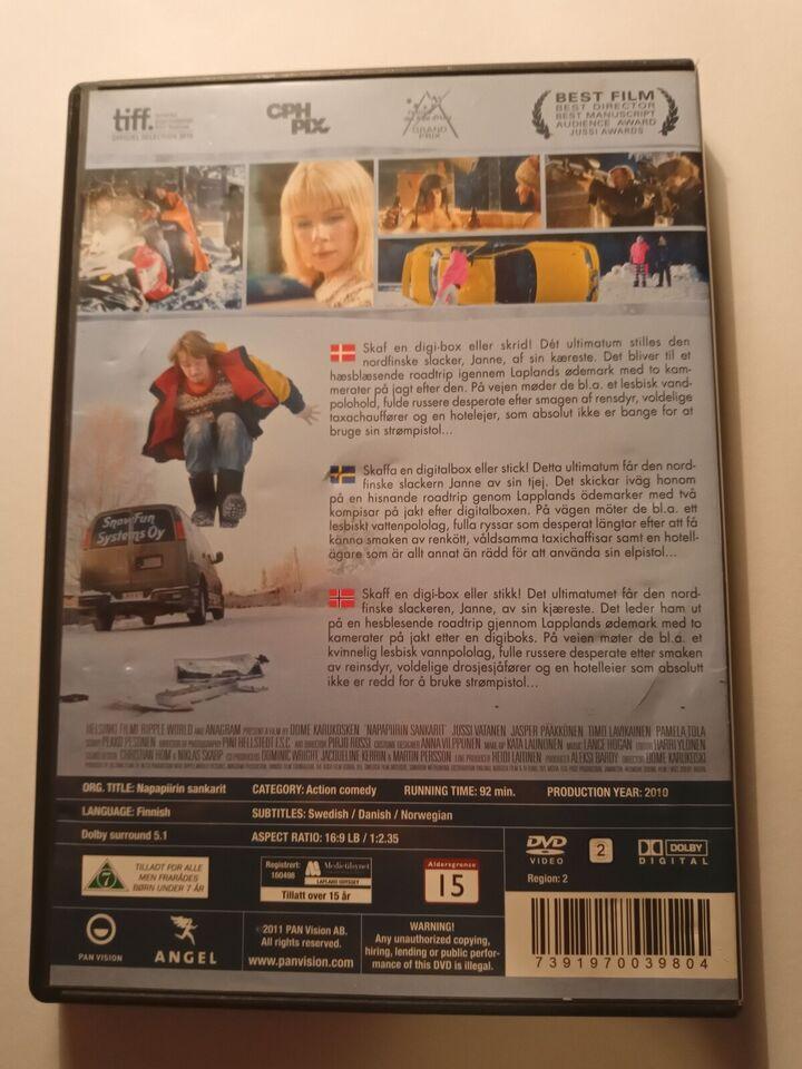 Lapland Odessey, instruktør Dome Karukoski, DVD