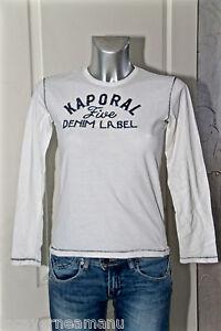 joli-tee-shirt-manches-longues-garcon-KAPORAL-5-modix-taille-10-ans