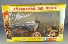 Jecsan - Far-West - Série Jecsaramas del Oeste - Cow-Boys Chariot plat