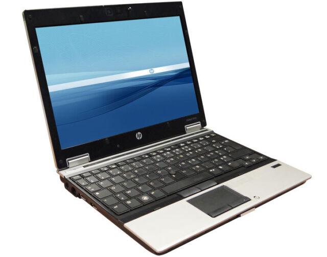 Core i7 HP EliteBook 2540p Ordinateur Portable. 2.1GHZ, 4 Go, 160 Go HDD, Windows 10.