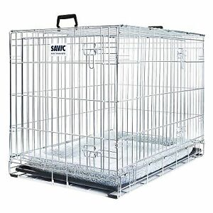 Extra-Large-Dog-Crate-Cage-with-Cushion-120cm-long-for-large-breeds-FAST-Del