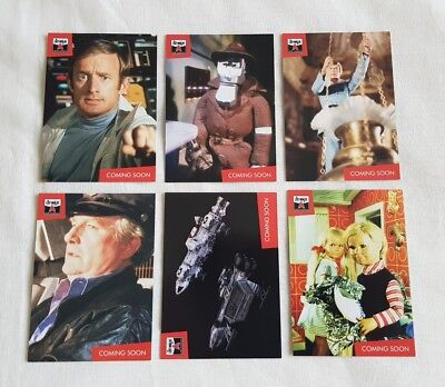 The Lost Worlds Of Gerry Anderson Trading Cards Basic Set