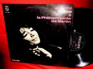 JULIETTE-GRECO-A-la-Philharmonie-de-Berlin-LP-ITALY-1966-EX-TOP-WAX