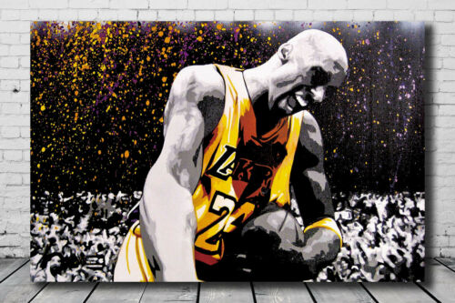 Details about  /Art Kobe Bryant Great Star MVP Poster 14x21 24x36 Hot Gift N-100