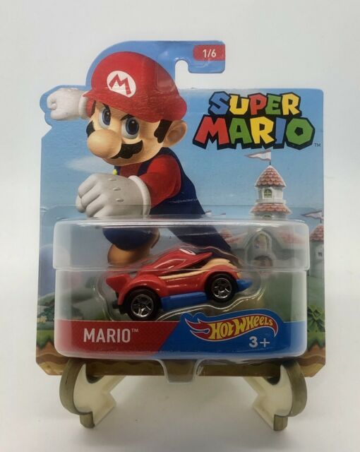 Mario Hot Wheels Super Mario Character Die Cast Car - 2016 - BRAND NEW