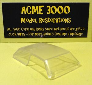 French-Dinky-542-Opel-Rekord-amp-Taxi-Reproduction-Repro-Clear-Plastic-Window-Unit