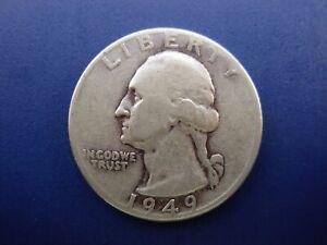 - Almost Uncirculated ++ 1949 Washington Quarter