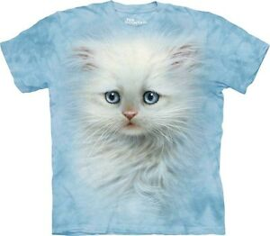 White-Kitten-Blue-Eyes-Shirt-Mountain-Brand-Cat-In-Stock-Adult-Small-5X