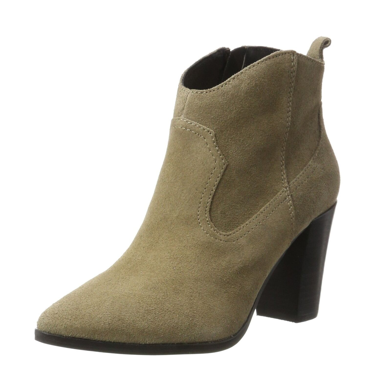 Buffalo Women's 414-9489 Cow Suede Boots Grey (Taupe 01 00) 4.5 UK