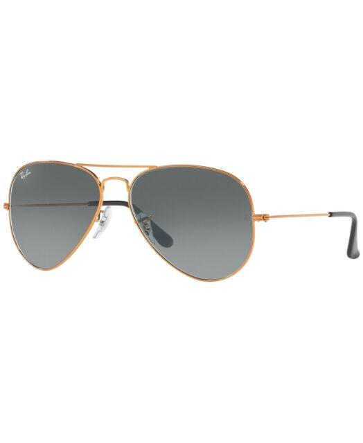 c017884b30e New Ray Ban Sunglasses Outdoor Fashion Aviator RB3025 197 71 Shiny Bronze  Grey
