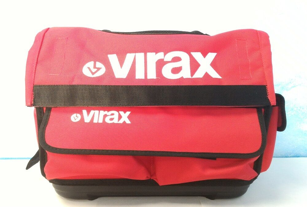 Virax Borsa porta utensili professionale mini cm 34 L x 34 H x 20 P