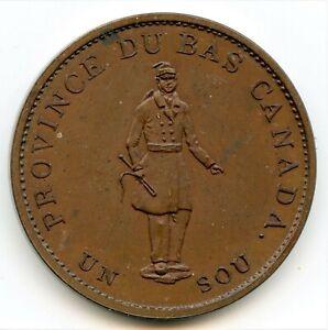 Br. 522, 1837 City Bank, Half Penny Token CH LC-8A2, Courteau 2f. ICCS Proof-64