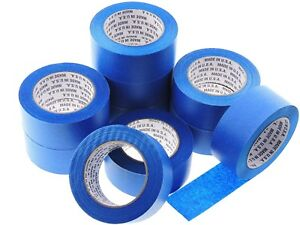 10x-2-in-inch-60-yd-USA-Premium-Blue-Painters-Tape-Paint-Masking-No-Residue