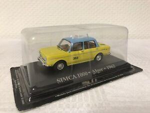 1-43-Simca-1000-Alger-Taxi-Geschenk-Modellauto-Modelcar-Oldtimer-Spielzeug-Rar