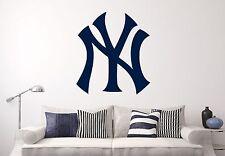 New York Yankees MLB Wall Decal Sports Baseball Sticker Vinyl Decor