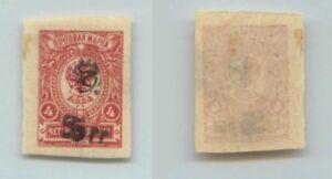 Armenia 🇦🇲 1920 SC 135a mint Type F or G black double print . f7212