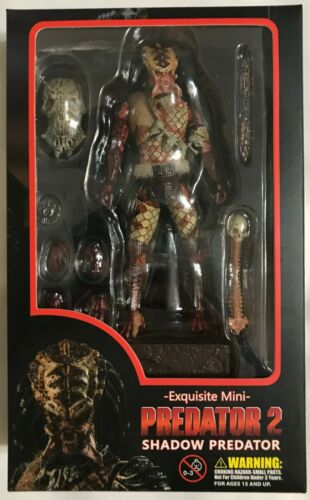 Hiya Toys Exquisite PREDATOR 2 SHADOW PX EXCLUSIVE 3.75 INCH Action Figure