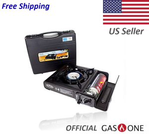 Portable Butane Camping Stove 7650 BTU by  Gas One NEW  shop makes buying and selling