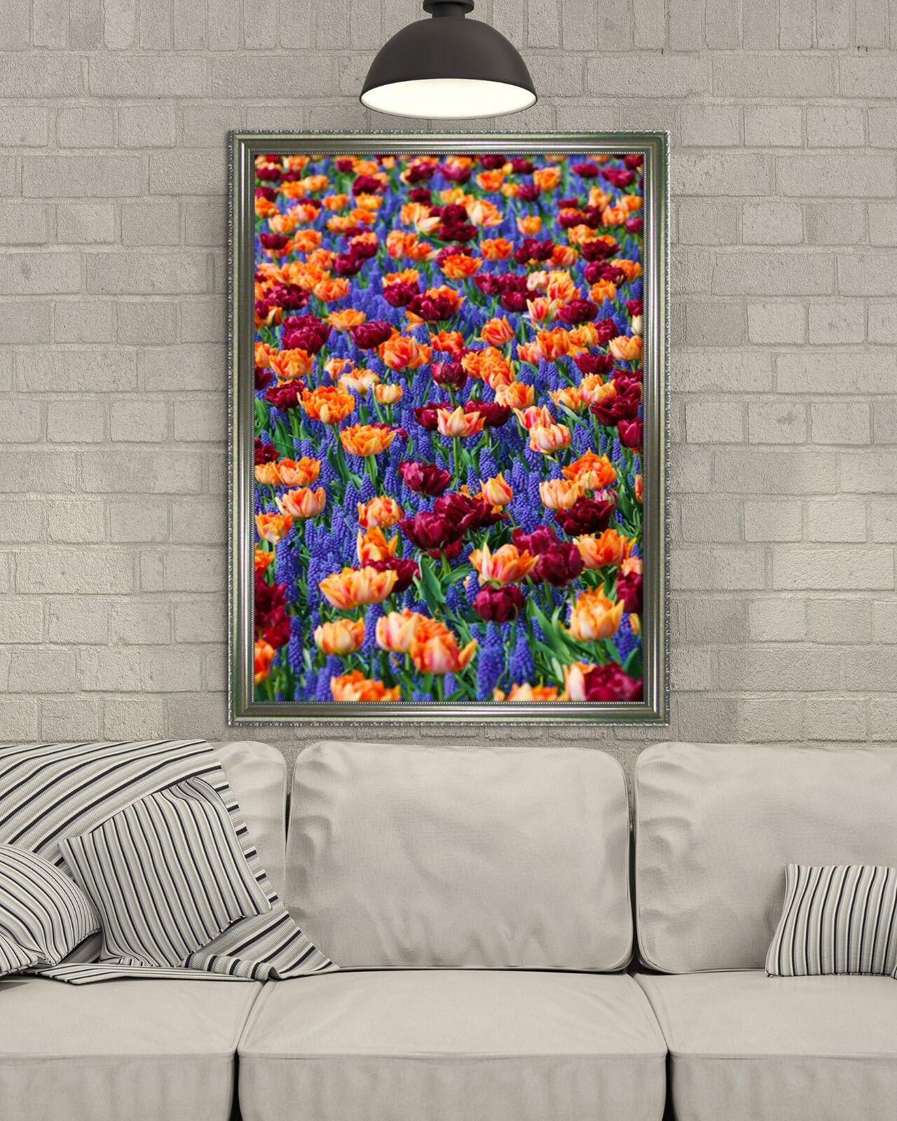 3D Painted Flowers 65 Fake Framed Poster Home Decor Drucken Painting Unique Kunst