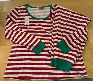 MACY'S Family PJs Plus Size Women's Christmas 2-Pc Pajamas ...