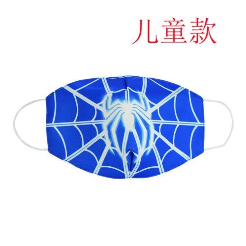 2PC Spiderman Kids/&Adult Mouth Face Dust-proof breathable and anti-fog Reusable