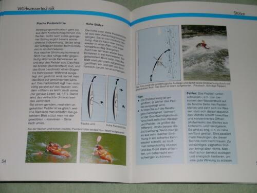 Kanu WILDWASSER FAHREN Ausrüstung Kajak Wildwassertechnik Training