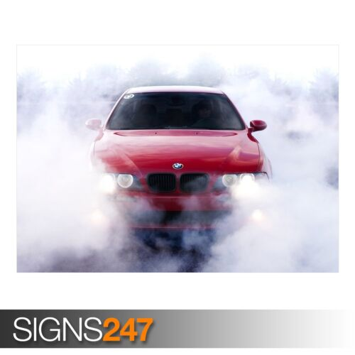 Photo Picture Poster Print Art A0 A1 A2 A3 A4 BMW 5 SERIES CAR POSTER AB407
