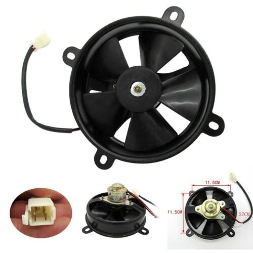 6in Dia Electric Cooling Fan Radiator for Quad Dirt Bike Buggy 150c 200c GO CART