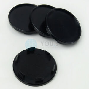 4-x-Nabenkappen-Nabendeckel-Felgendeckel-65-0-57-0-mm-T45049W-schwarz