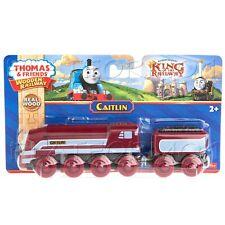 CAITLIN Thomas Wooden King of the Railway Engine Train Car NEW CAITLYN