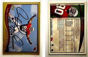 Andre Wadsworth Signed 1998 Topps #353 Card Arizona Cardinals Auto Autograph