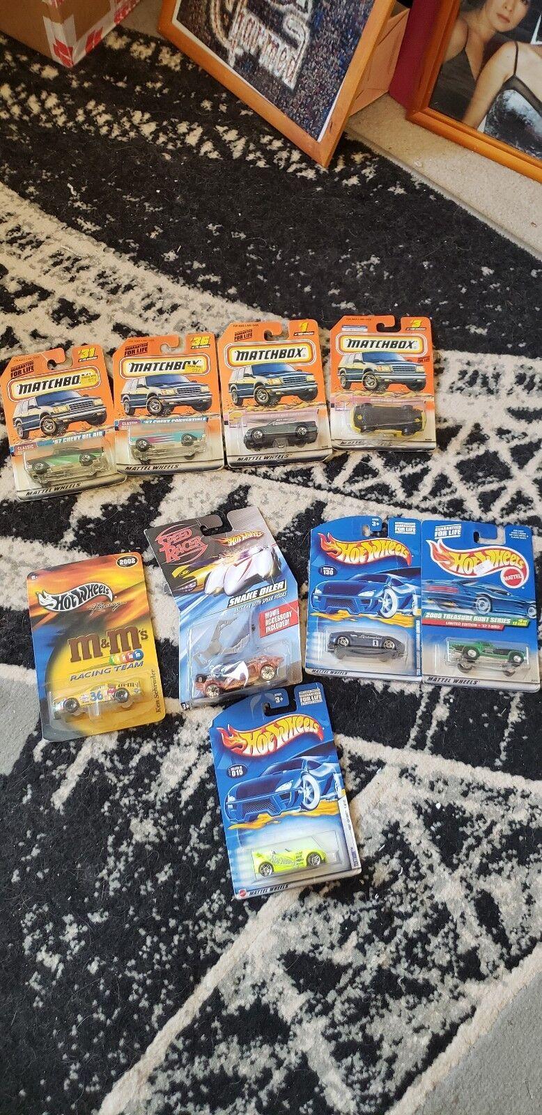 Vintage Hot Wheels Matchbox Treasure Hunt Lot of 8 Ships Worldwide 1997 & Up