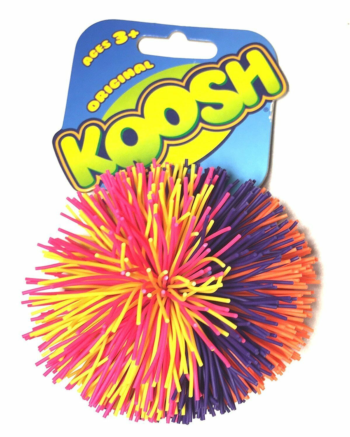 """Assorted Colours 1 Supplied Koosh Ball 3/"""" Ball"""