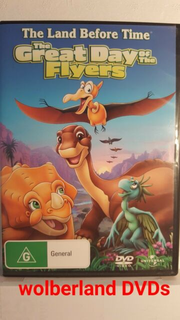 The Land Before Time - The Great Day Of The Flyers : Vol 12 [ DVD ] LIKE NEW, R4
