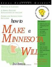 How to Make a Minnesota Will (Legal Survival Guides)