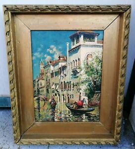 Antoine-Bouvard-1870-1955-Canale-a-Venezia-olio-su-tavola-30-x-40-cm