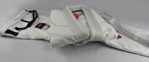 550 gram Pearl Weave Kids Bjj gi for Adult KANKU NEW White Jiu jitsu uniform