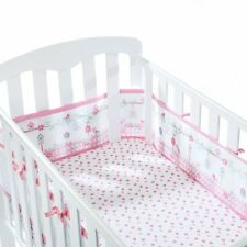BreathableBaby 4 Sided Cot Wrap - English Garden - NEW