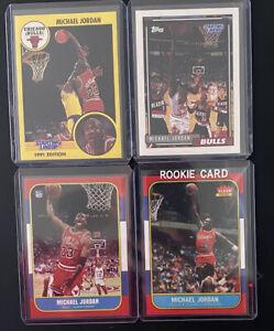 MICHAEL JORDAN Card MINT Starting Lineup Cards 1991 - 1993 Lot Plus 2 Fleer RP