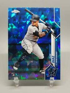 ISAN-DIAZ-2020-Topps-Chrome-Sapphire-Base-RC-Rookie-278-Marlins