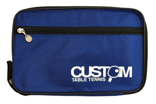 Personnalisé Tennis De Table Bleu Streamline single TABLE TENNIS BAT Case