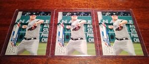 (3) CARD LOT SP GERRIT COLE 2020 TOPPS SERIES ONE #68 NEW YORK YANKEES