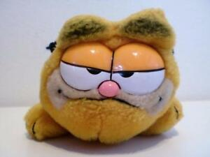 Vintage-Classic-Garfield-Mini-Plush-Soft-Toy-Cat-Doll-1980s-6-034-Long