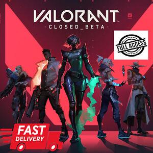 Valorant-Account-EU-RU-Email-100-Full-access-Fast-Delivery-Bonus-Games