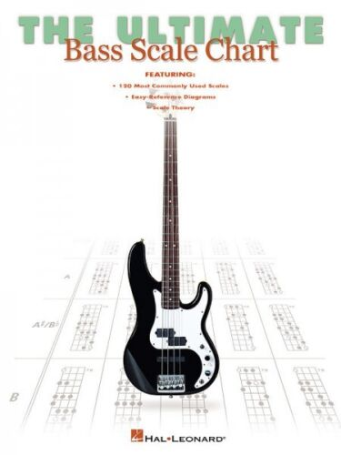 Bass Instruction NEW 000695695 The Ultimate Bass Scale Chart