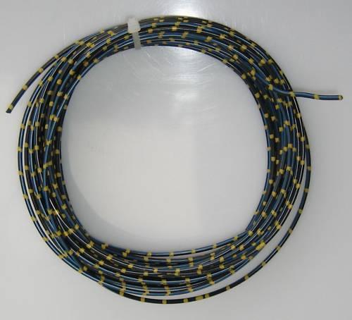 KFZ Kabel Fahrzeugleitung 1,0mm² 10m sw/bl/ge 3 farbig Auto Pkw Lkw