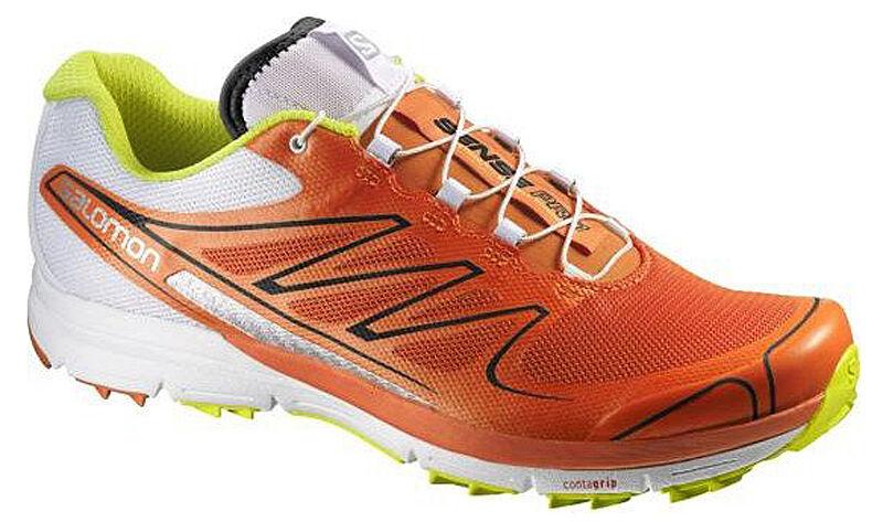 Running shoes Salomon Sense pro,Profeel,orange White, 369814, EAN