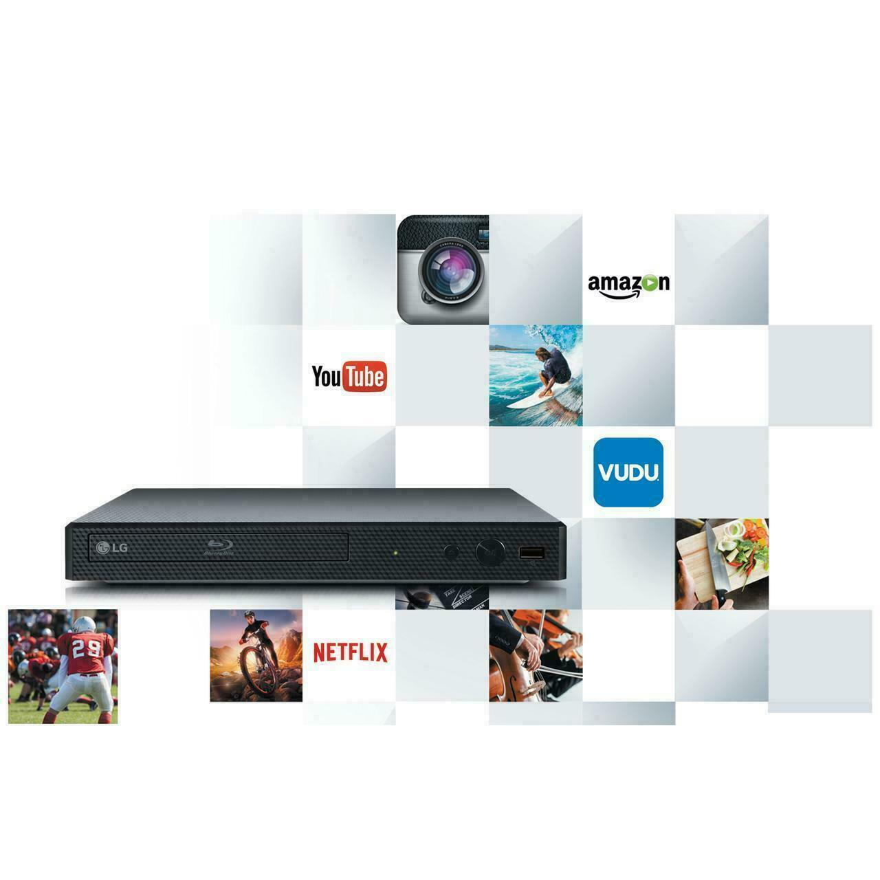 BRAND NEW IN BOX LG - Streaming Audio Blu-ray Player - Black audio black box brand new player streaming